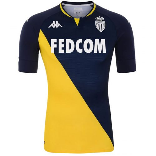 AS Monaco Away Football Shirt 20 21