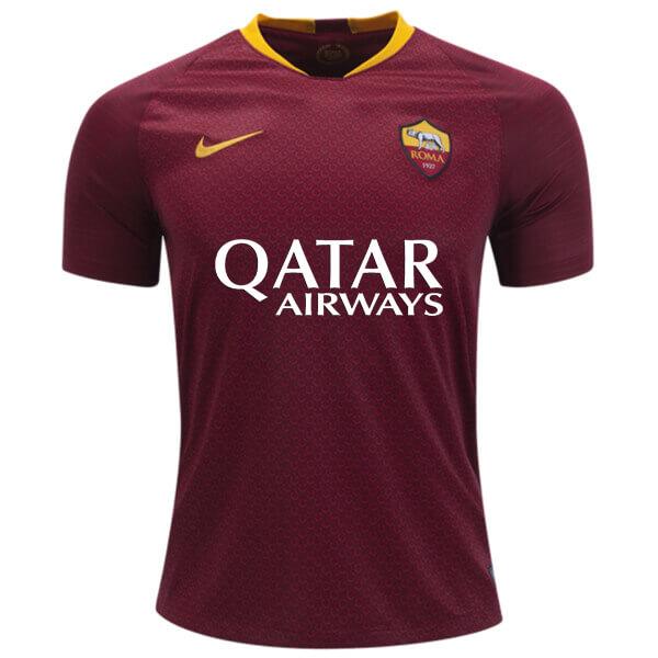 AS Roma Home Football Shirt 18 19 - SoccerLord 05a525605
