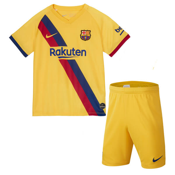 Barcelona Away Kids Football Kit 1920