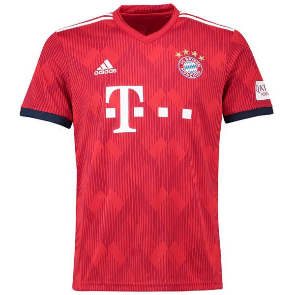 Bayern munich home football shirt 18 19 soccerlord for 18 36 37 shirt size