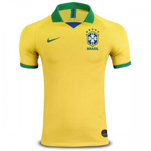 Brazil Home Football Shirt 2019
