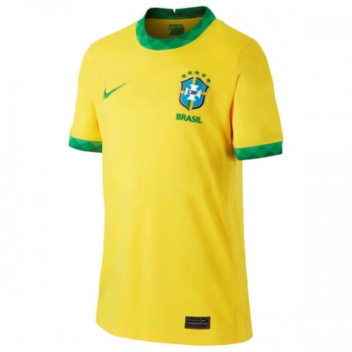 Brazil Home Football Shirt 2020