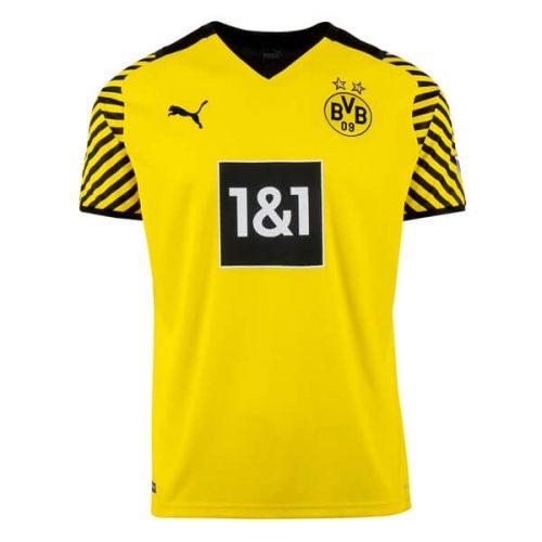 Borussia Dortmund Home Football Shirt 21 22