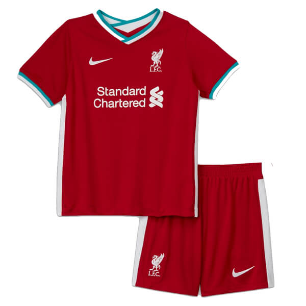 Liverpool Home Kids Football Kit 20 21 Soccerlord