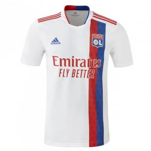 Olympique Lyon Home Football Shirt 21 22