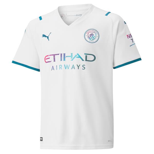 Manchester City Away Football Shirt 21 22