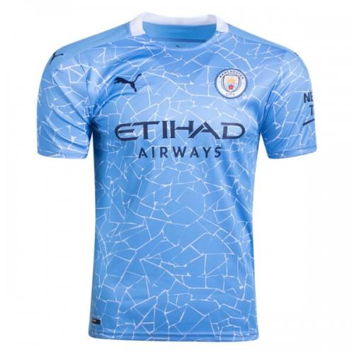 Manchester City Home Football Shirt 20 21