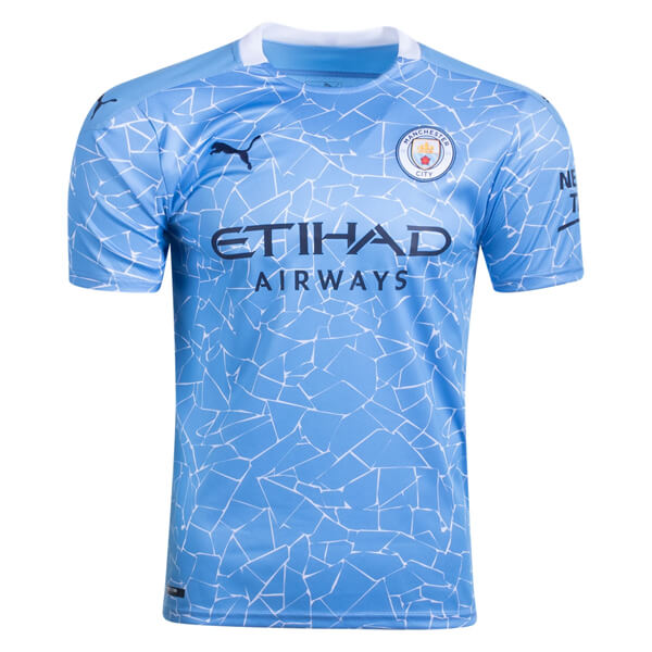 Manchester City Home Football Shirt 20 21