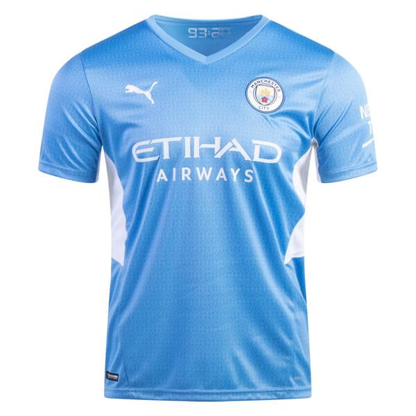 Manchester City Home Football Shirt 21 22
