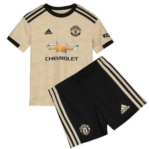 Manchester United Away Kids Football Kit 19 20