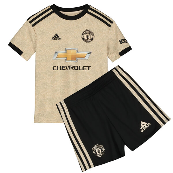 new product b81da 0685a Manchester United Away Kids Football Kit 19/20