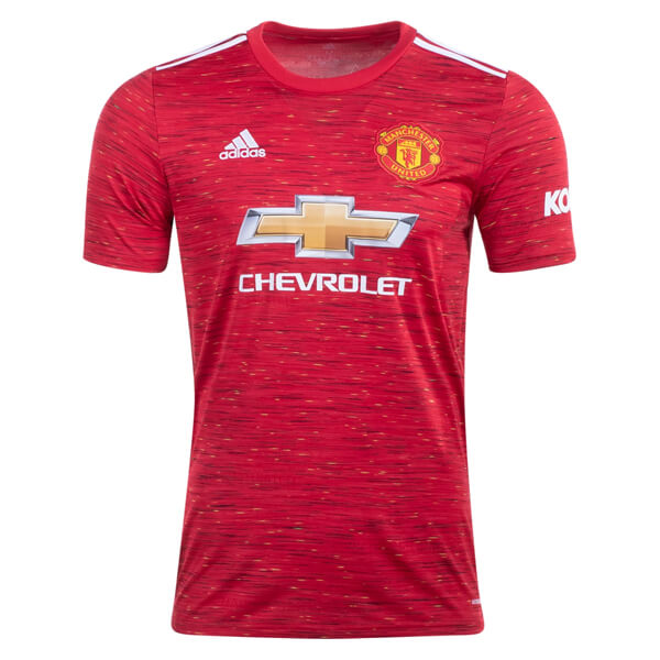 Manchester United Home Football Shirt 20 21