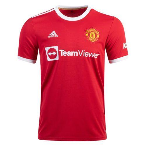Manchester United Home Football Shirt 21 22