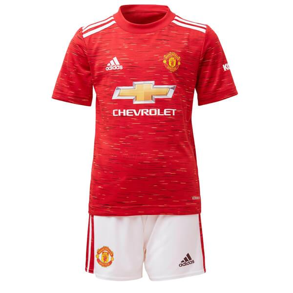 Manchester United Home Kids Football Kit 2021