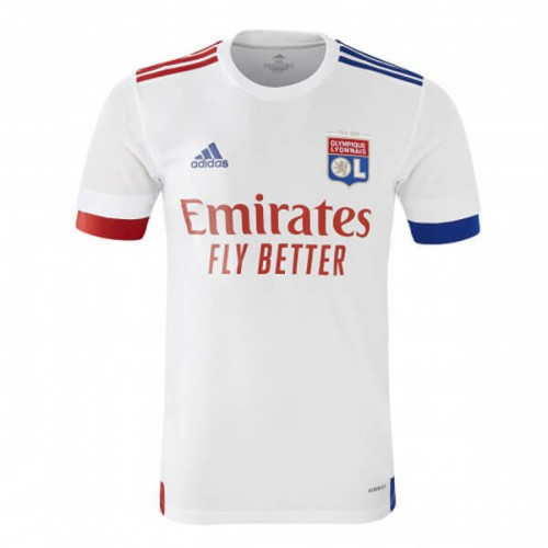 Olympique Lyon Home Football Shirt 20 21