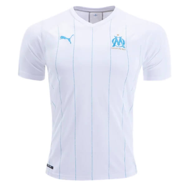 Olympique Marseille Home Football Shirt 1920