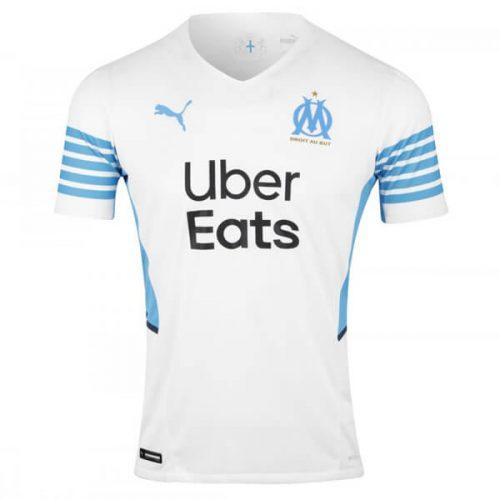 Olympique Marseille Home Football Shirt 21 22