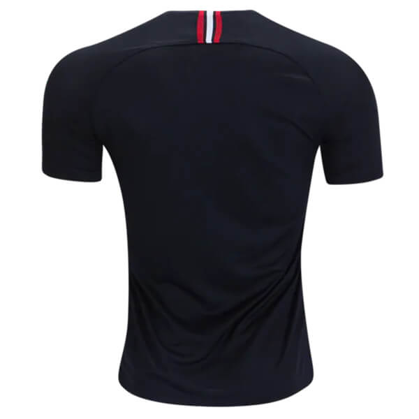 detailed look e25ca eda49 Paris Saint-Germain 3rd Jordan Football Shirt 18/19 - Black