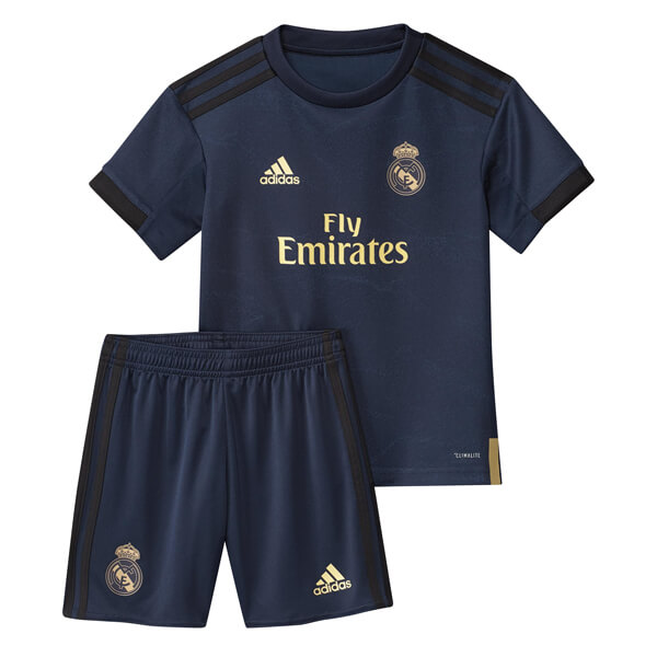 super popular 983c9 b37ca Real Madrid Away Kids Football Kit 19/20