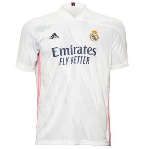 Real Madrid Home Football Shirt 20 21