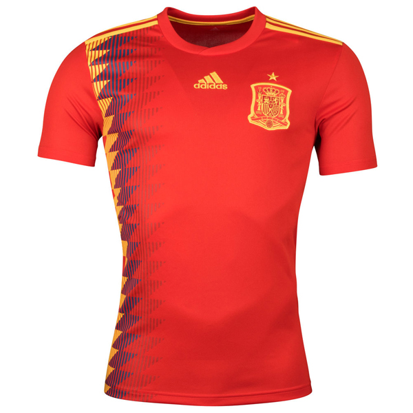 Spain Home Football Shirt 2018