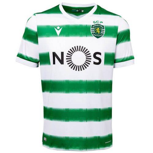 Sporting Lisbon Home Football Shirt 20 21