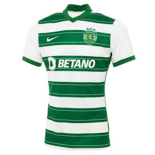 Sporting Lisbon Home Football Shirt 21 22
