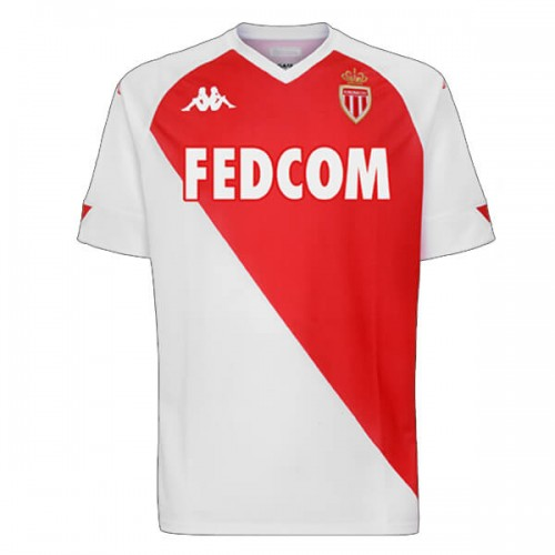 AS Monaco Home Football Shirt 2021