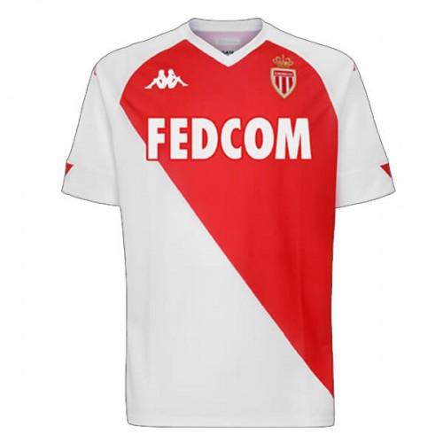 AS Monaco Home Football Shirt 2021