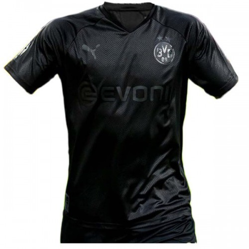 Borussia Dortmund 110 Anniversary Blackout Football Shirt 19 20