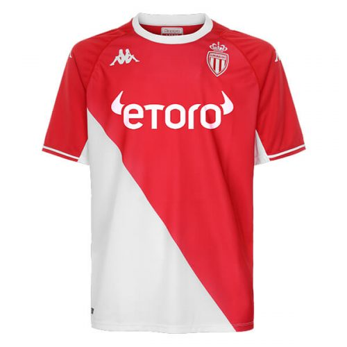 Monaco Home Football Shirt 21 22