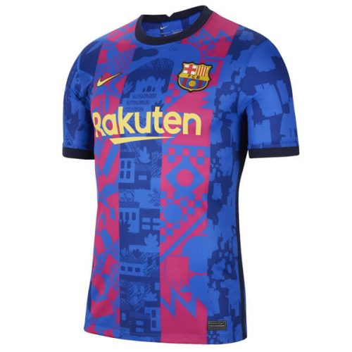 Barcelona Third Football Shirt 21 22