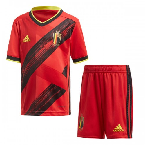 Belgium Home Euro 2020 Kids Football Kit