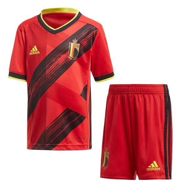 Belgium Home Euro 2020 Kids Football Kit Soccerlord