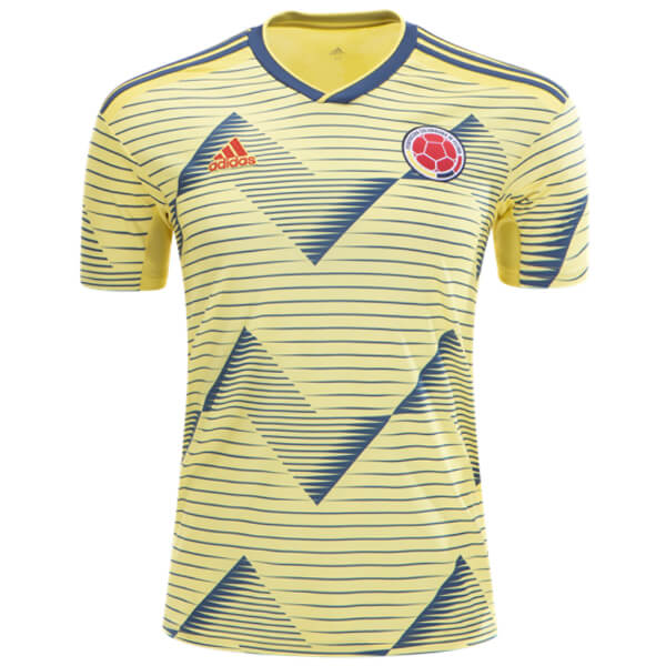 447660a16 Colombia 2019 Home Football Shirt - SoccerLord