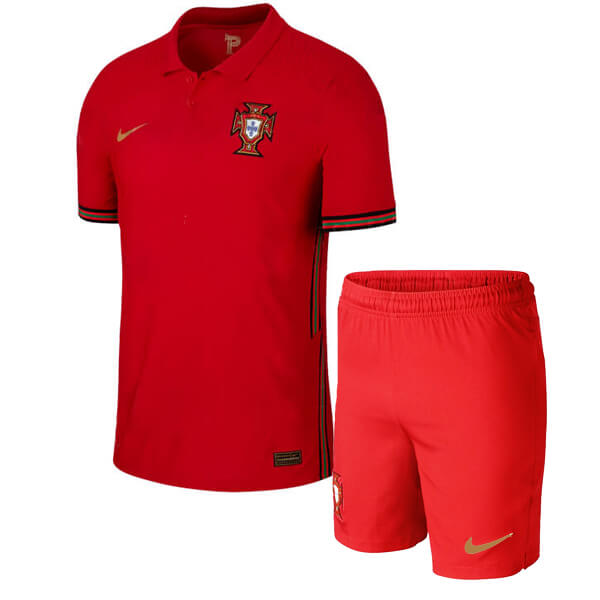 Portugal Home Kids Football Kit 2020