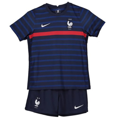 France Home Kids Football Kit 2021