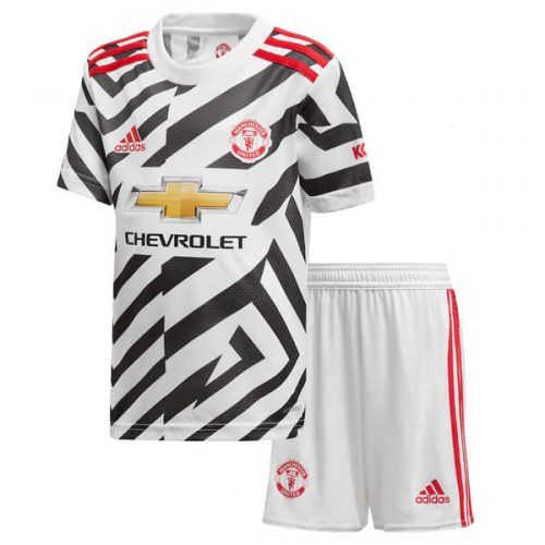 Manchester United Third Kids Football Kit 20 21