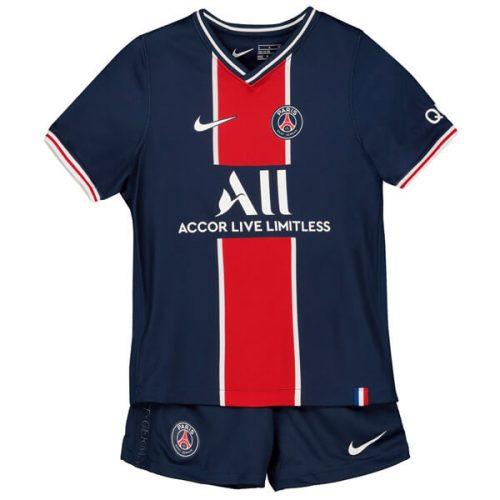 PSG Home Kids Football Kit 2021