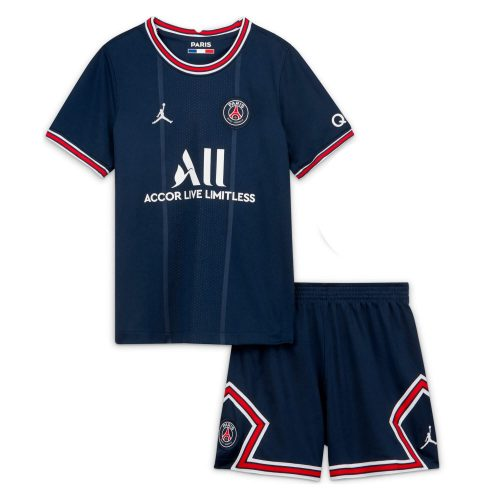 PSG Home Kids Football Kit 21 22