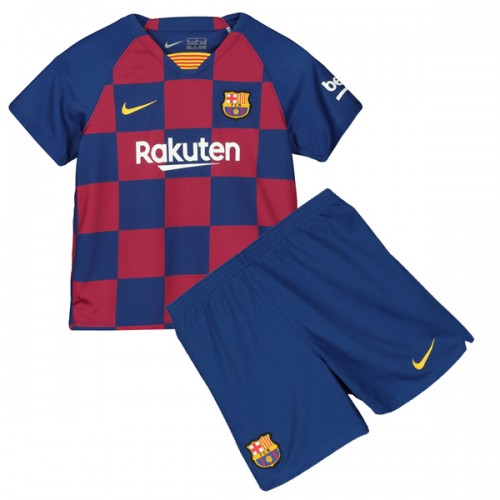 Barcelona Home Kids Football Kit 19 20