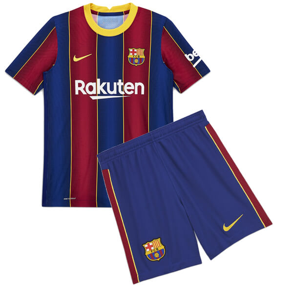 Barcelona Home Kids Football Kit 20 21