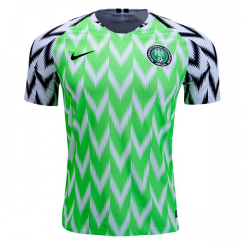 Nigeria Home Football Shirt 1819