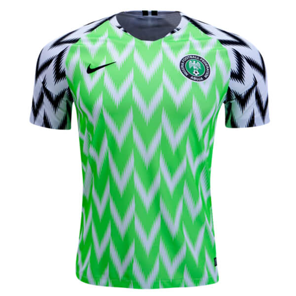 Nigeria 2018 World Cup Home Football Shirt - SoccerLord 69755ac7d