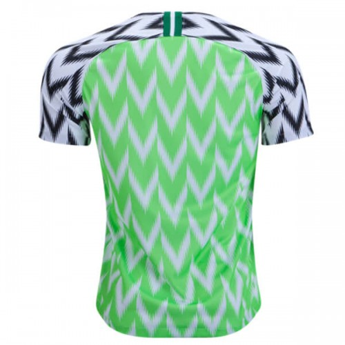 Nigeria Home Soccer Jersey 18 19