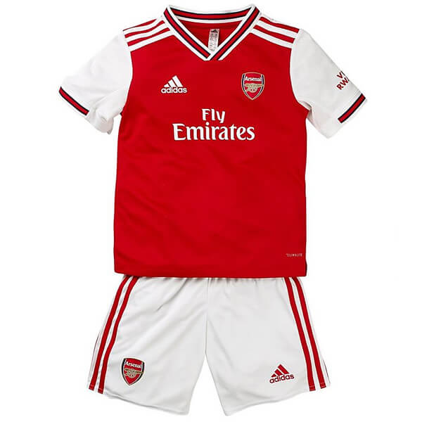 save off 455ff 4ce98 Arsenal Home Kids Football Kit 19/20