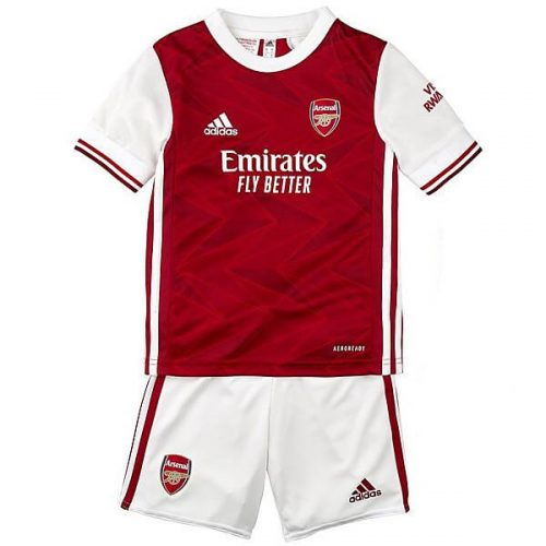Arsenal Home Kids Football Kit 20 21
