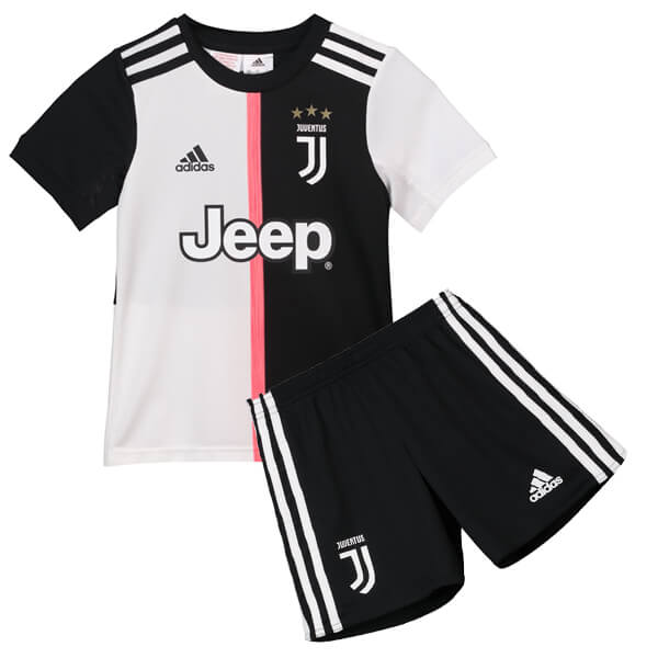 71155aa39 Juventus Home Kids Football Kit 19 20 - SoccerLord