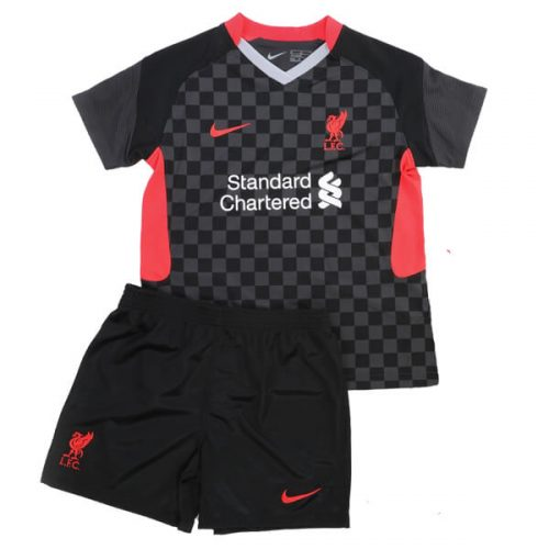 Liverpool Third Kids Football Kit 2021