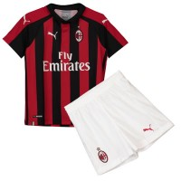 AC Milan Home Kids Football Kit 1819